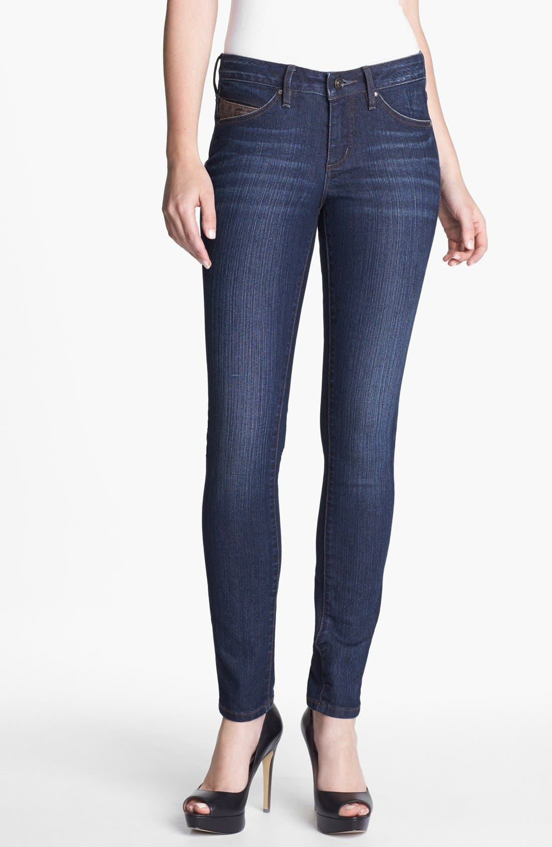 Alternate Image 1 Selected - Jag Jeans 'Reece' Skinny Stretch Jeans (Online Only)