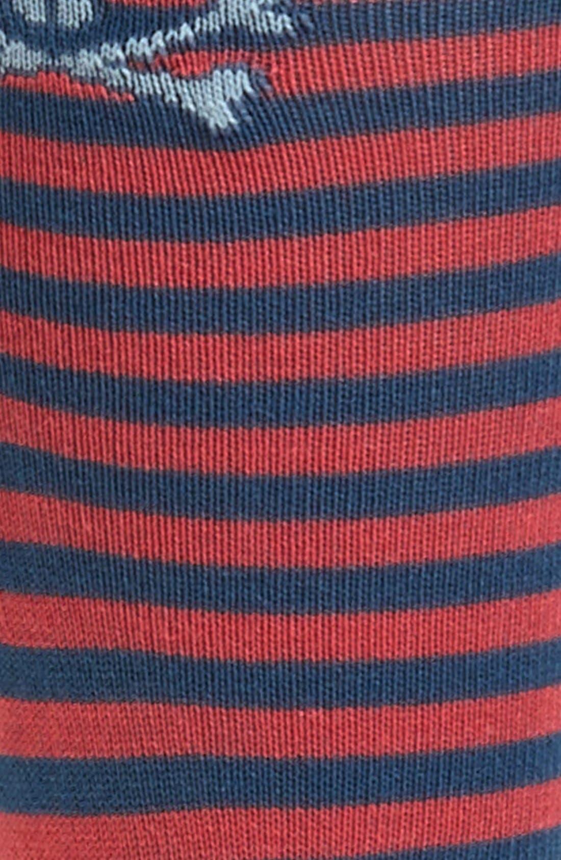 Alternate Image 2  - Psycho Bunny Stripe Socks
