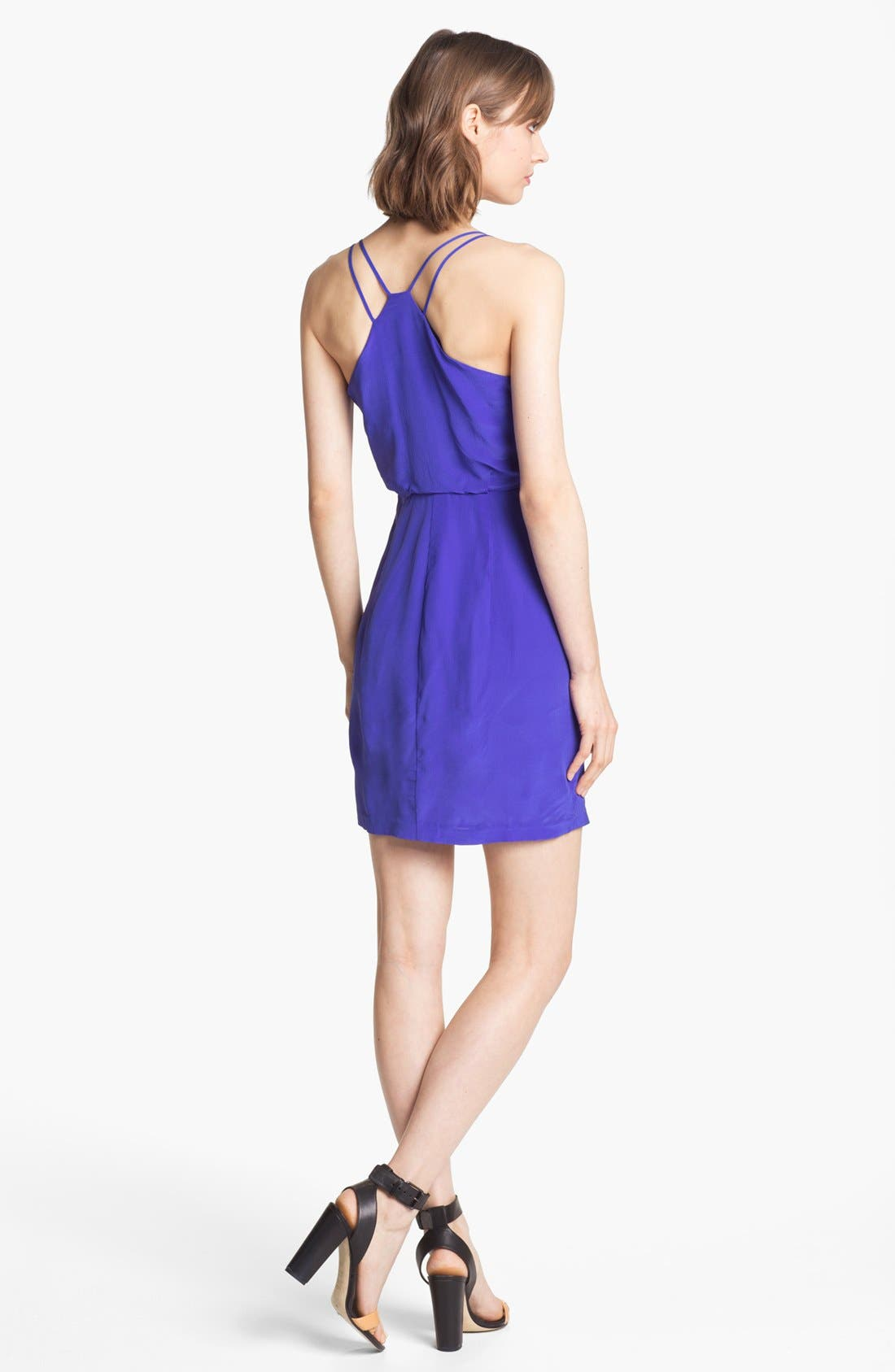 Alternate Image 2  - Greylin 'Dahlia' Silk Dress