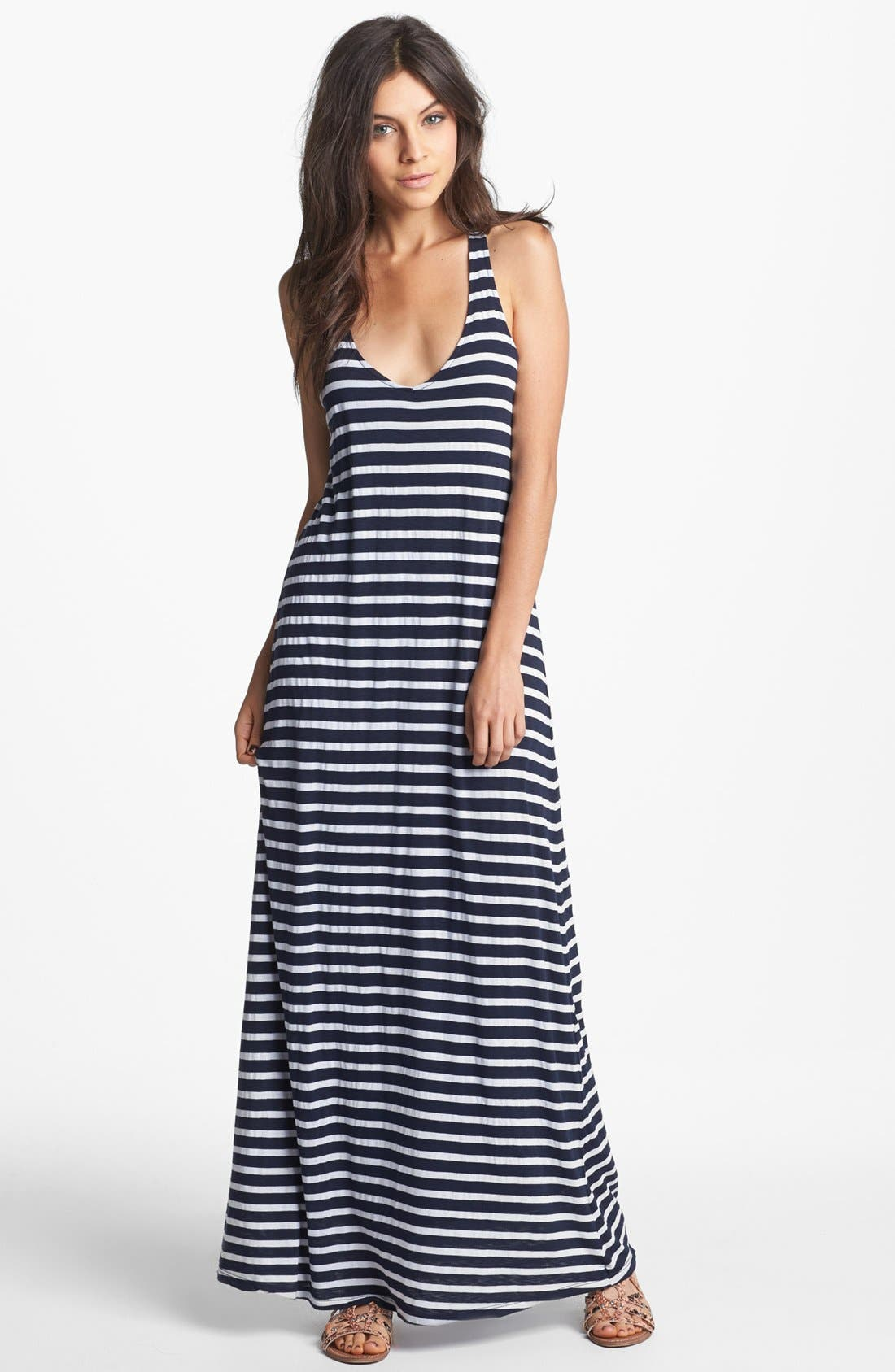 Alternate Image 1 Selected - Splendid Stripe Maxi Dress