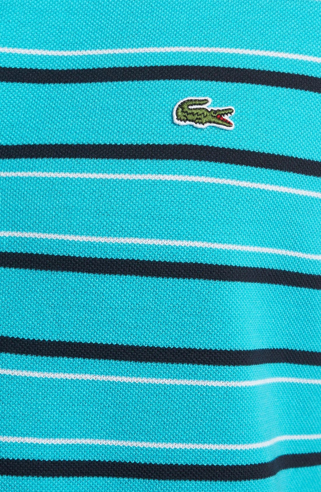 Alternate Image 3  - Lacoste Stripe Piqué Polo