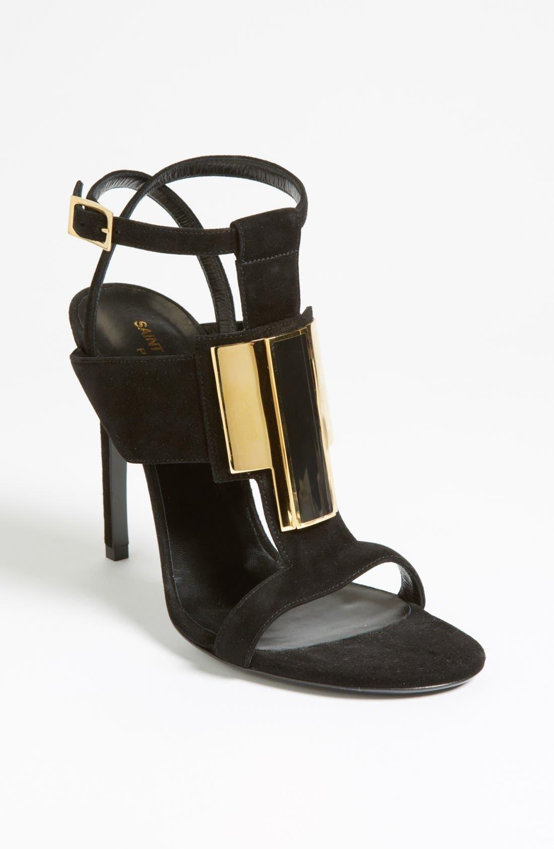 Alternate Image 1 Selected - Saint Laurent 'Janis Metal' Sandal
