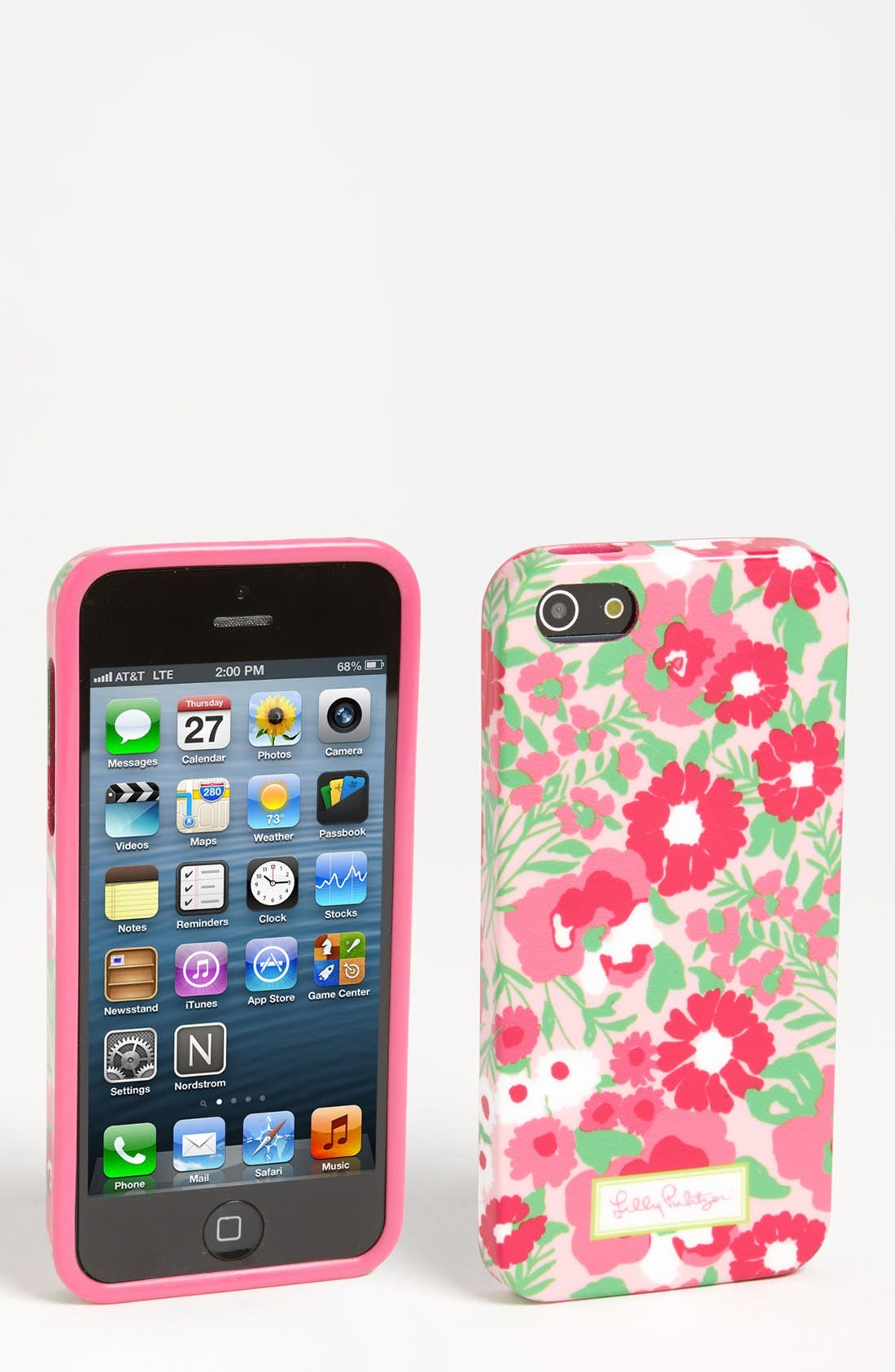 Alternate Image 1 Selected - Lilly Pulitzer® 'Garden by the Sea' iPhone 5 Case