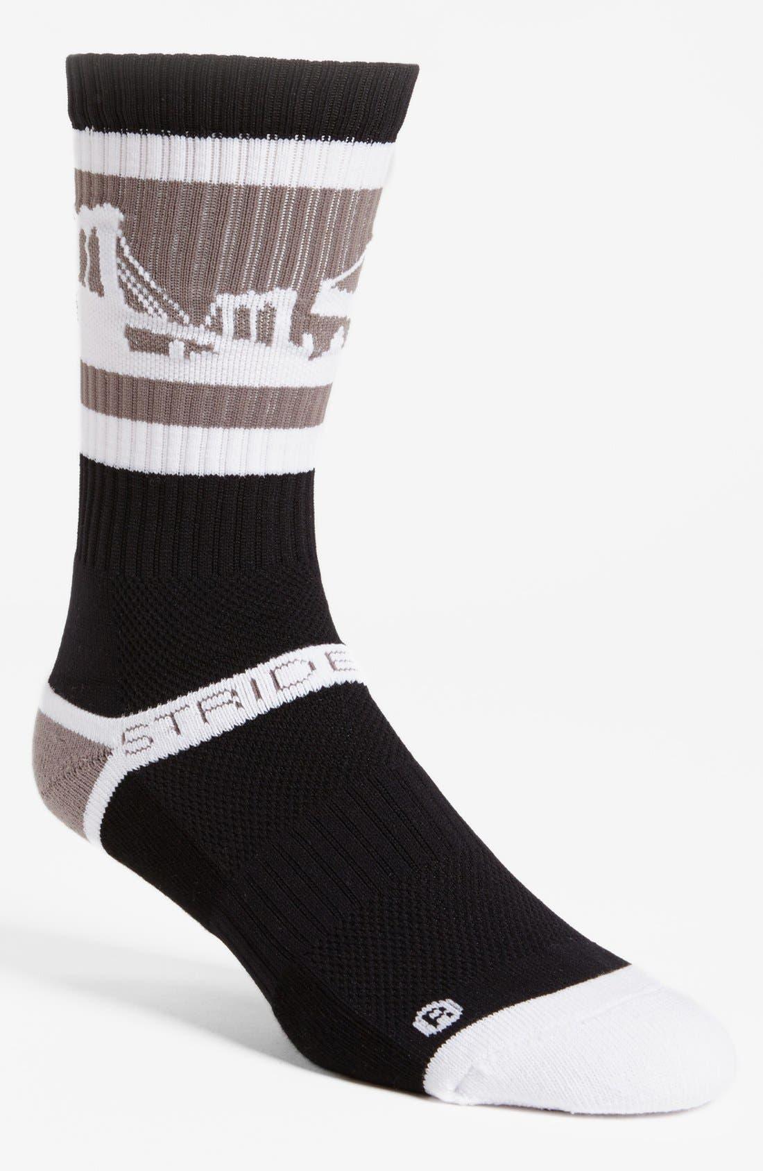 Alternate Image 1 Selected - STRIDELINE 'Brooklyn' Socks