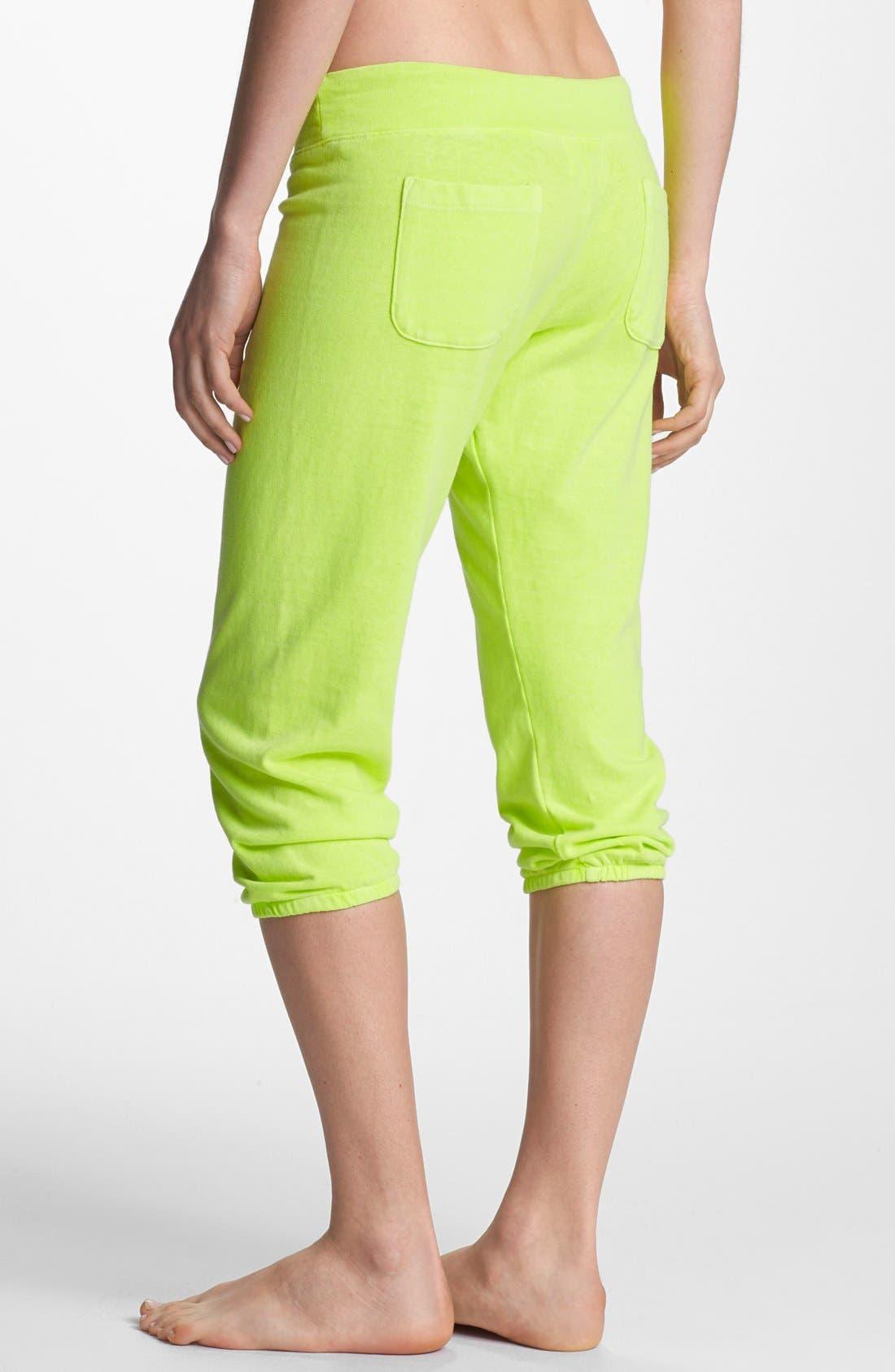 Alternate Image 2  - Monrow Vintage Fleece 3/4 Sweatpants