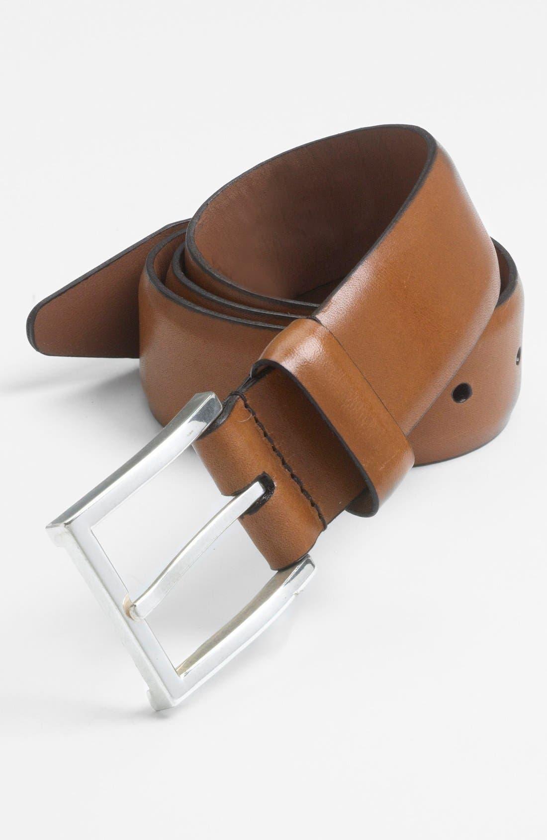 'Dearborn' Belt,                         Main,                         color, Walnut