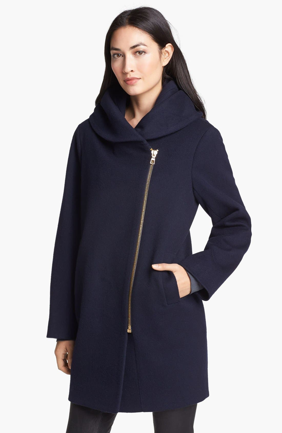 Alternate Image 1 Selected - Caruana Asymmetrical Merino Coat