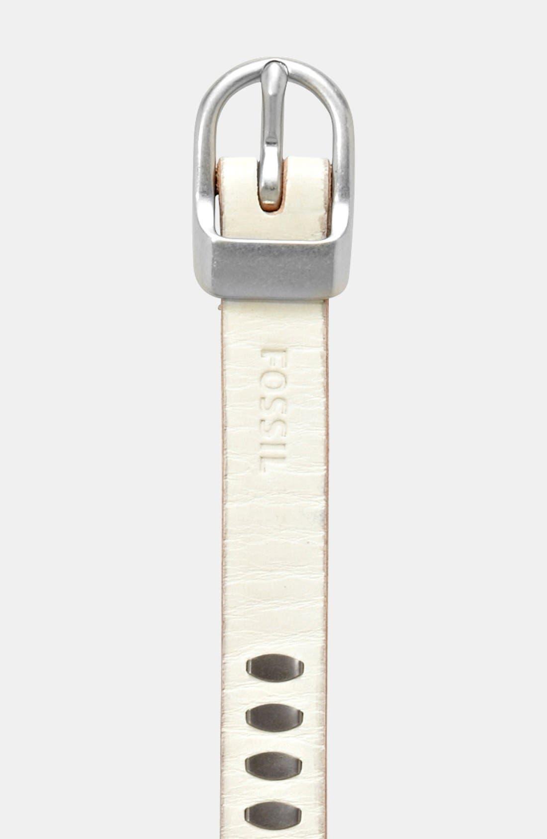 Alternate Image 2  - Fossil Riveted Leather Belt