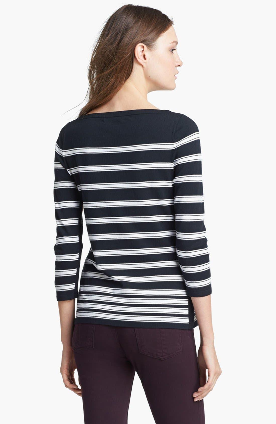 Alternate Image 3  - rag & bone 'Sara' Stripe Knit Top