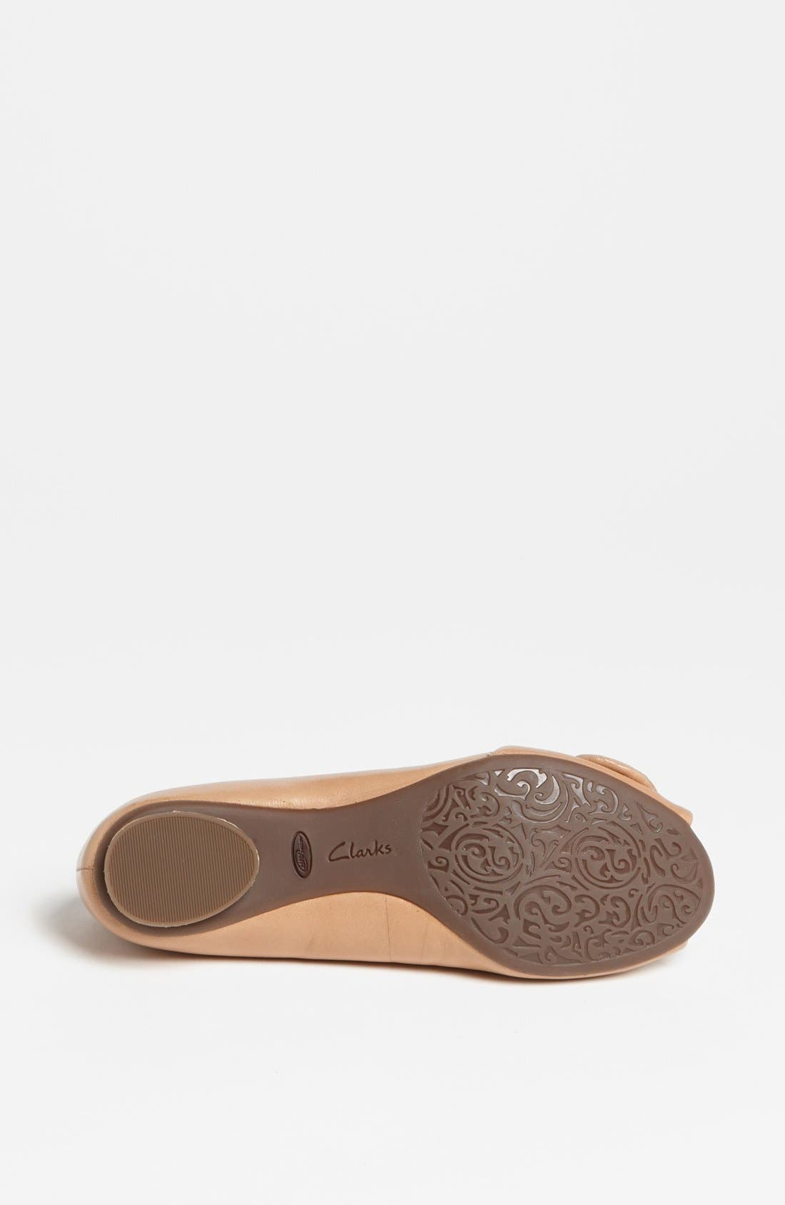 Alternate Image 4  - Clarks® Artisan Collection 'Dumure Flare' Flat (Online Only)