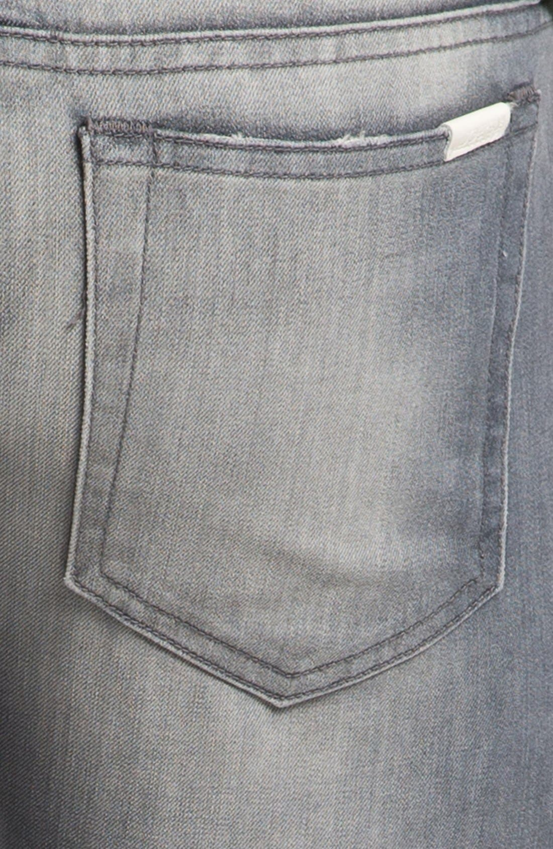 Alternate Image 4  - Joe's 'Slim' Skinny Fit Selvedge Jeans (Briggs)
