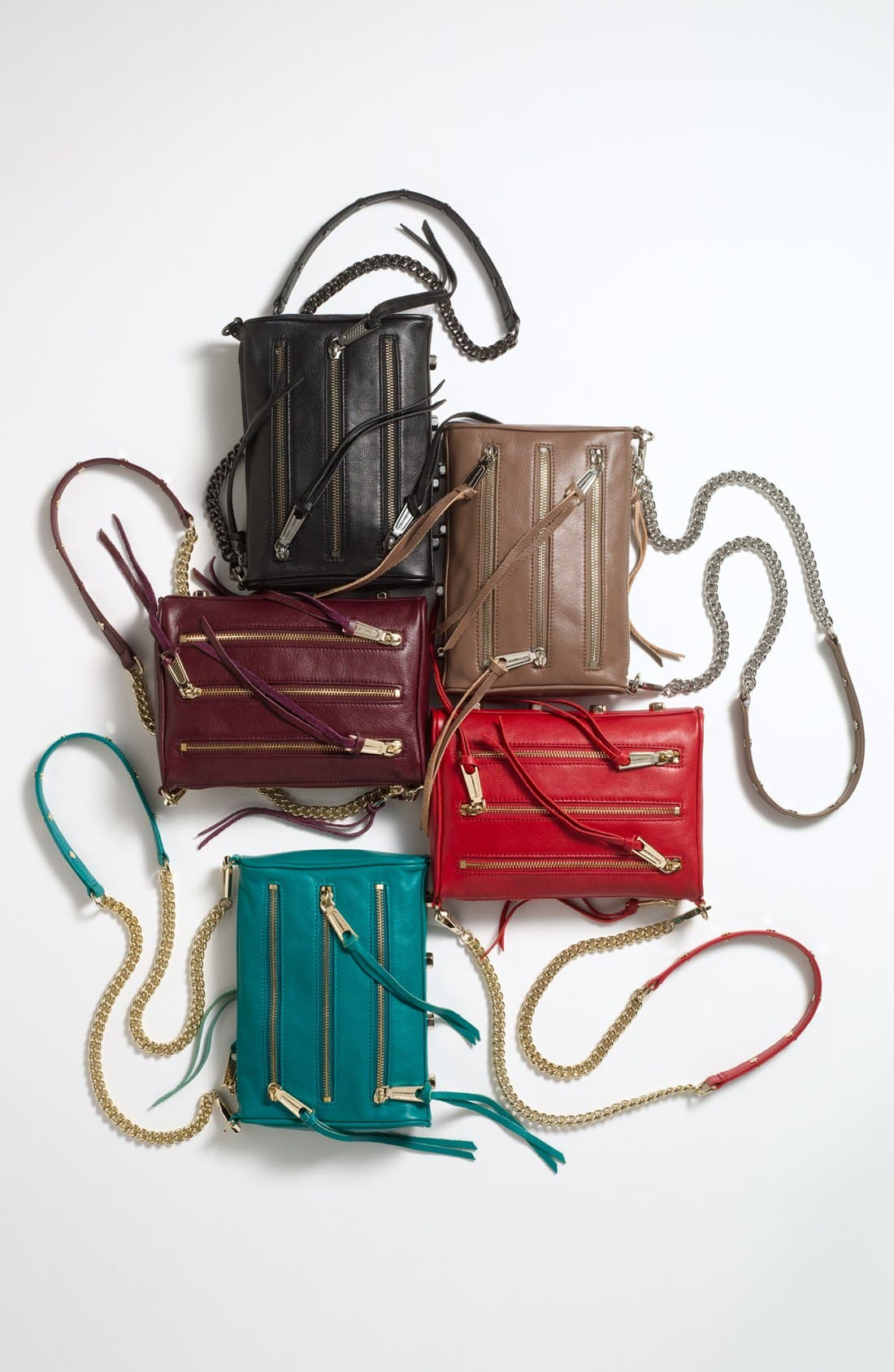 Alternate Image 3  - Rebecca Minkoff '5 Zip - Mini' Crossbody Bag