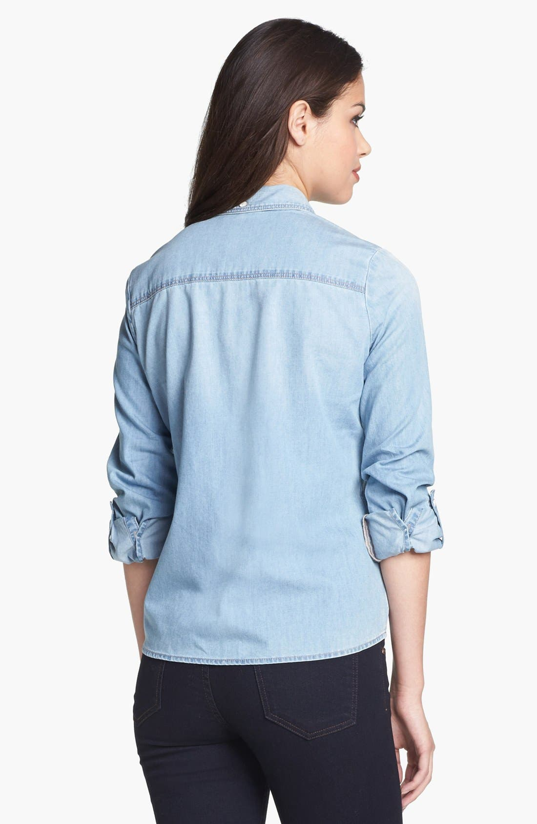 Alternate Image 3  - Halogen® Chambray Shirt