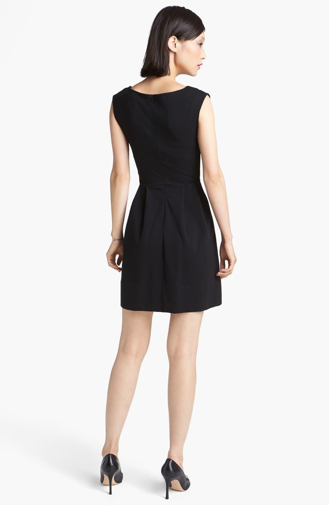 Alternate Image 2  - MARC BY MARC JACOBS 'Sophia' Ponte Fit & Flare Dress