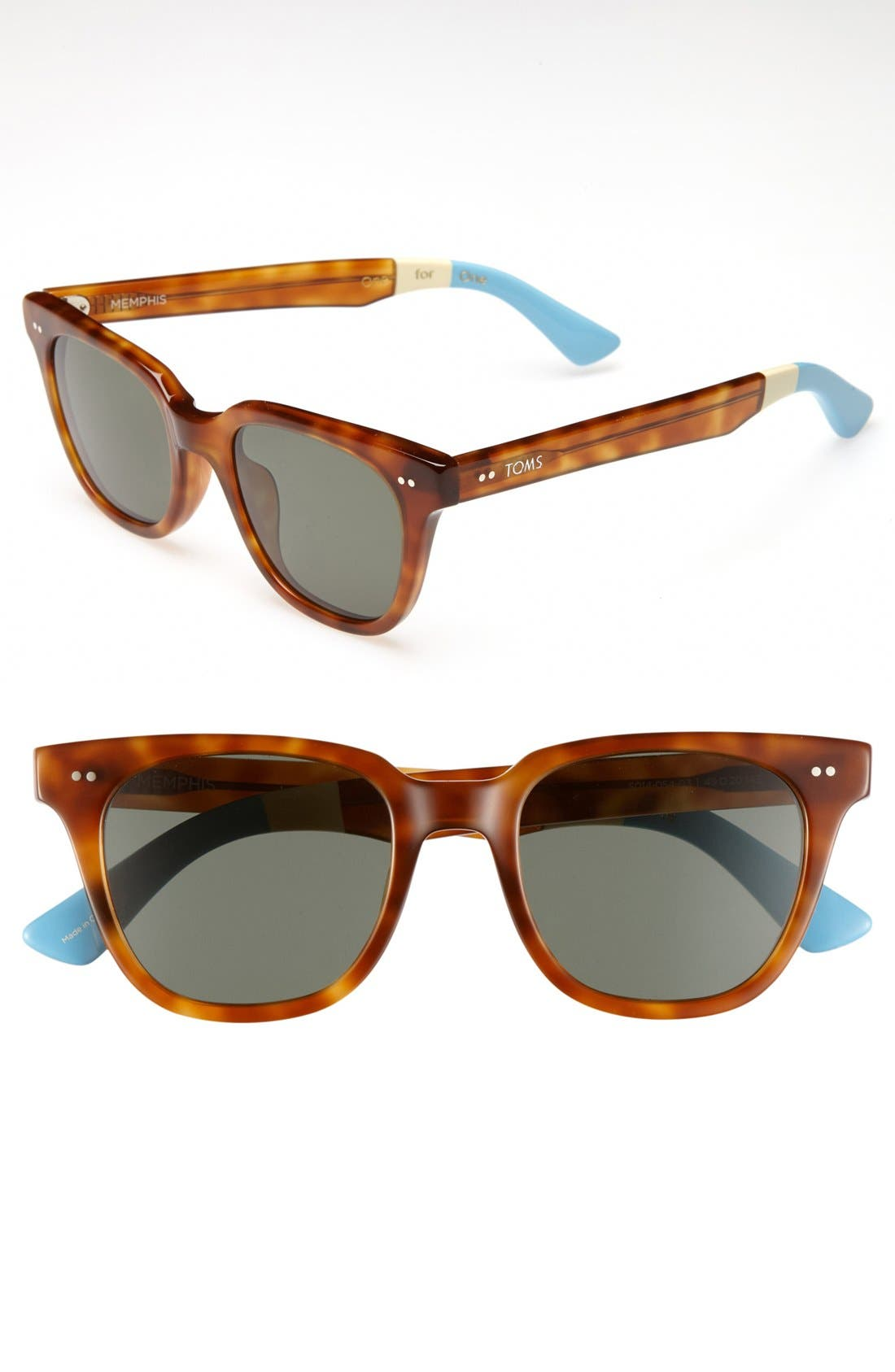 Main Image - TOMS 'Memphis' 49mm Sunglasses