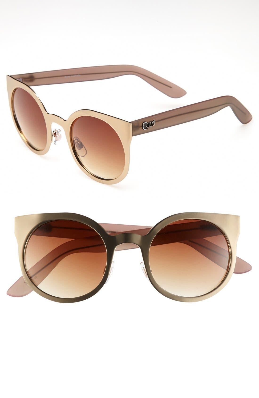 Alternate Image 1 Selected - Quay 'Nakita' Sunglasses