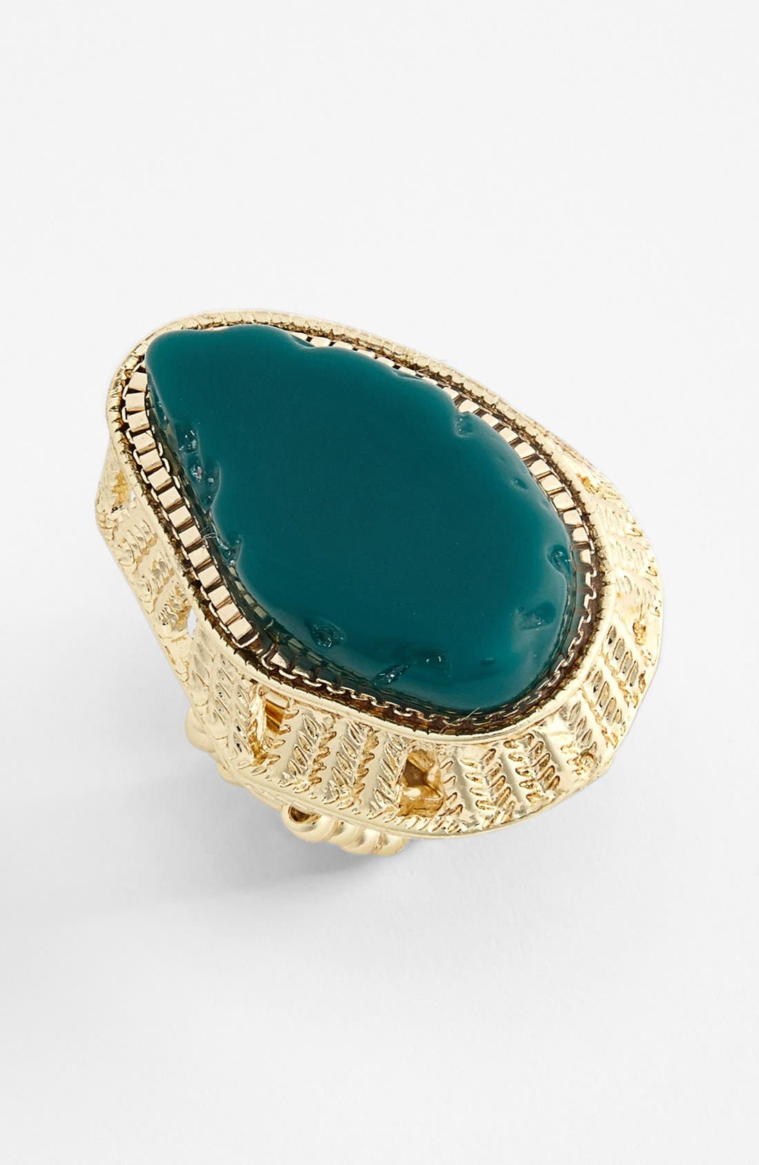 Alternate Image 1 Selected - Stephan & Co. Stone Statement Ring (Juniors) (Online Only)