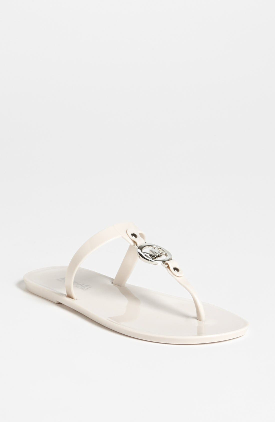 Main Image - MICHAEL Michael Kors 'Sondra' Jelly Sandal (Nordstrom Exclusive)
