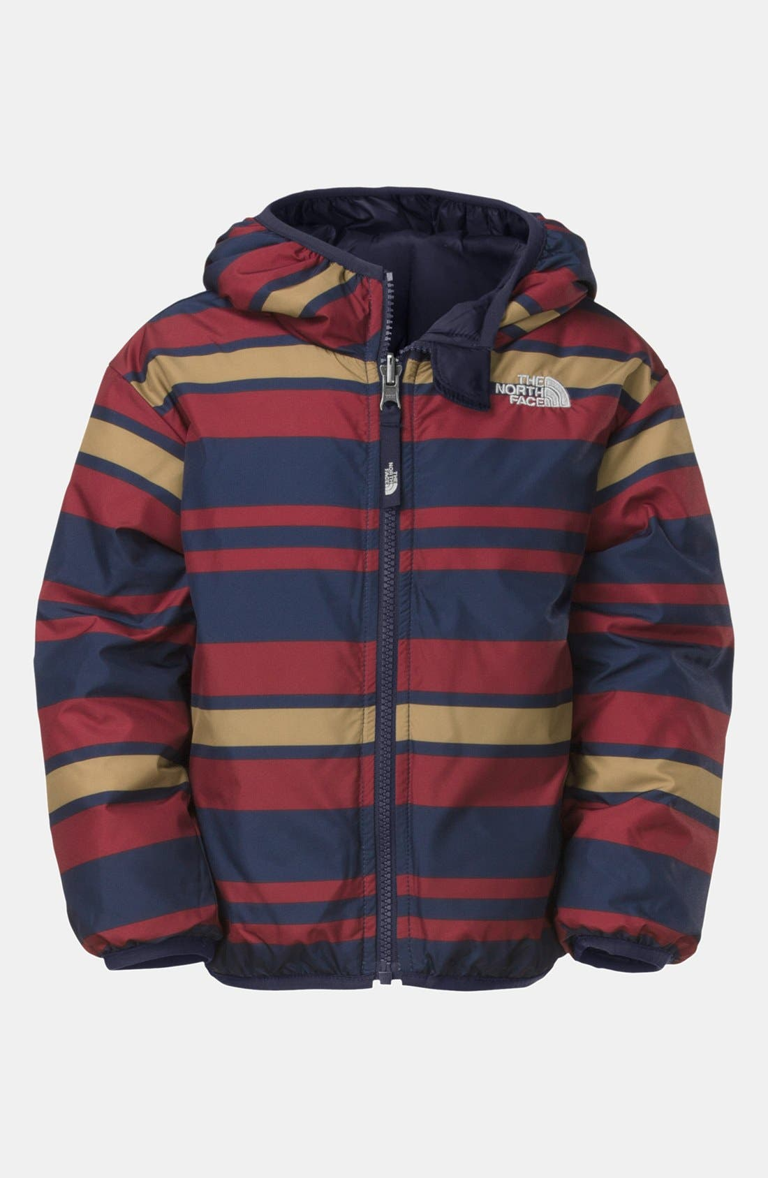 Alternate Image 2  - The North Face 'Moondoggy' Reversible Quilted Down Jacket (Toddler Boys)