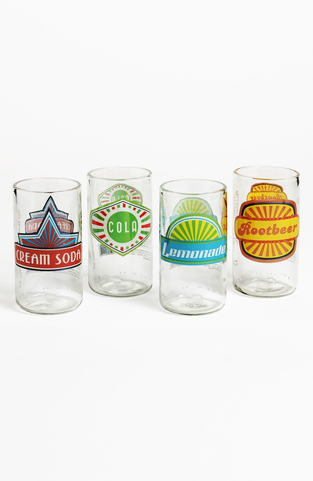 Alternate Image 1 Selected - 'Upcycle' Highball Glasses (Set of 4)