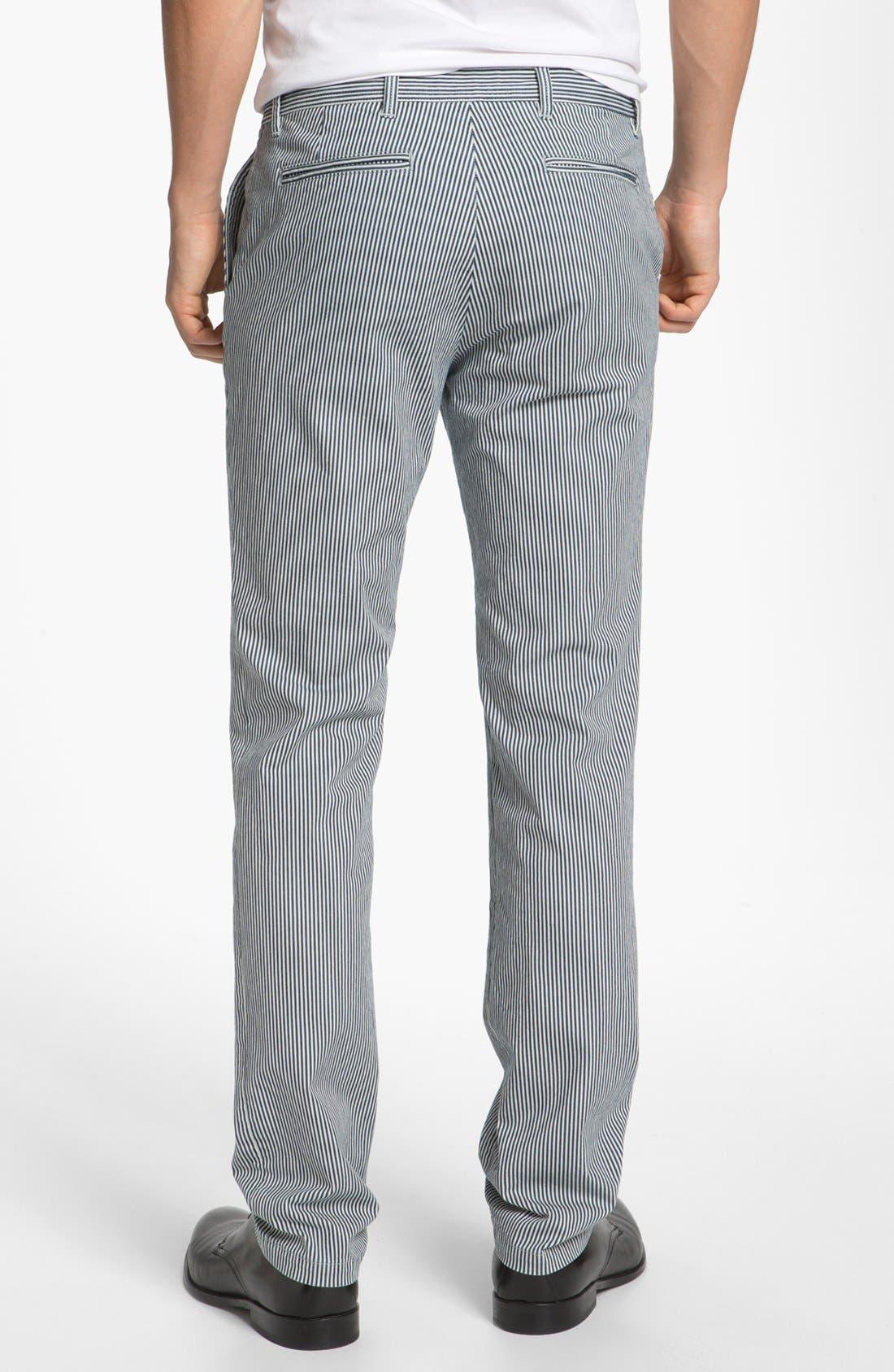 Alternate Image 2  - A.P.C. 'New Chino' Stripe Pants