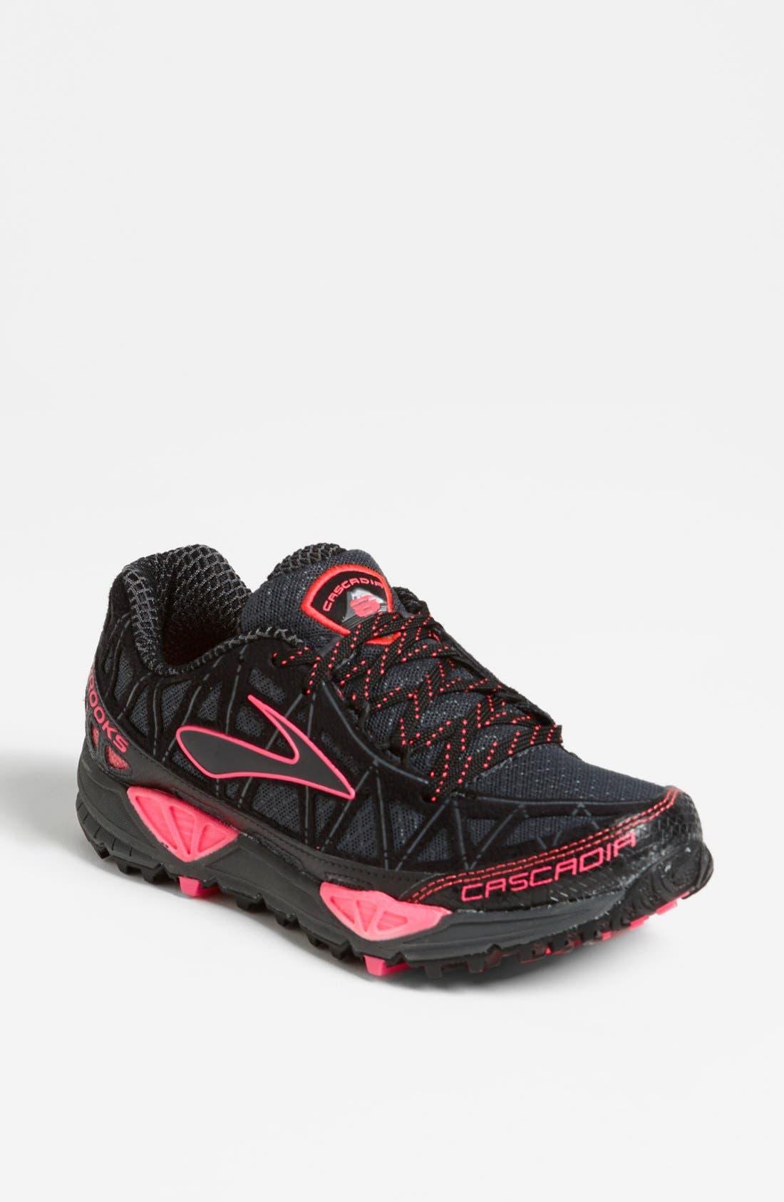 Main Image - Brooks 'Cascadia 8' Running Shoe (Women)