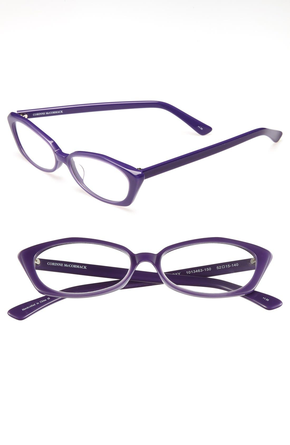 Alternate Image 1 Selected - Corinne McCormack 'Roxy' 52mm Reading Glasses (2 for $88)