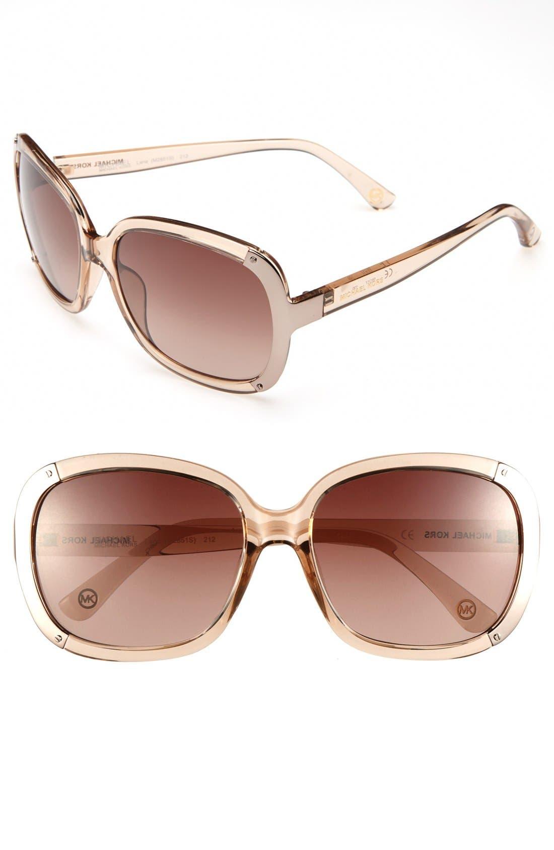 Alternate Image 1 Selected - MICHAEL Michael Kors 'Lana' Sunglasses