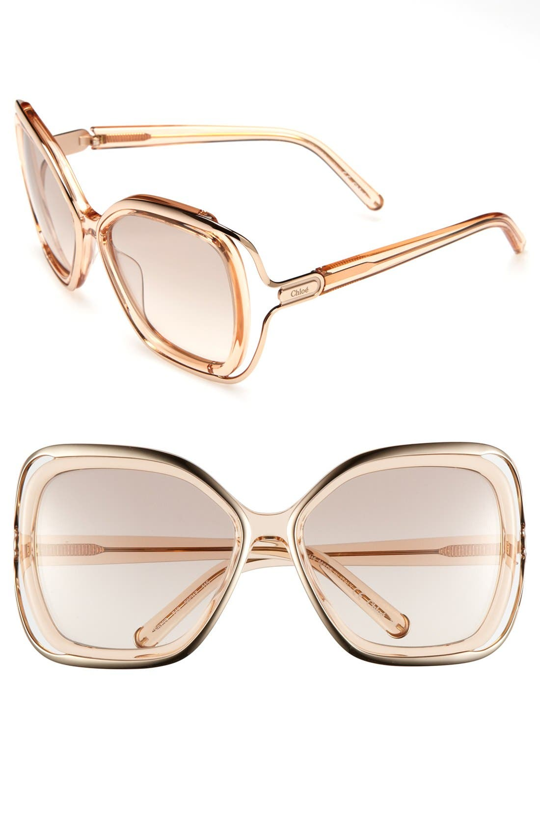 Alternate Image 1 Selected - Chloé 56mm Sunglasses