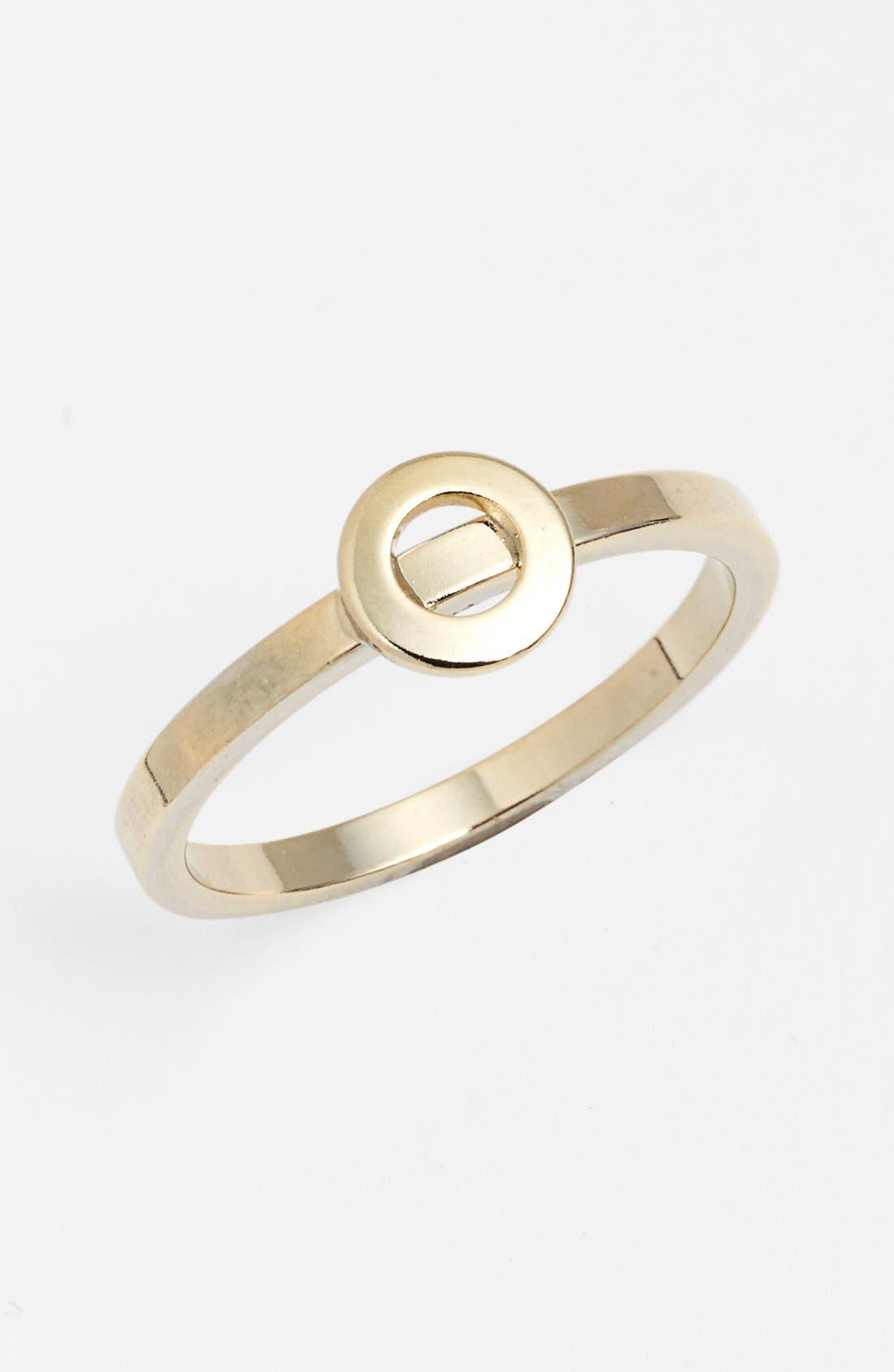 Alternate Image 1 Selected - Bonnie Jonas Initial Midi Ring