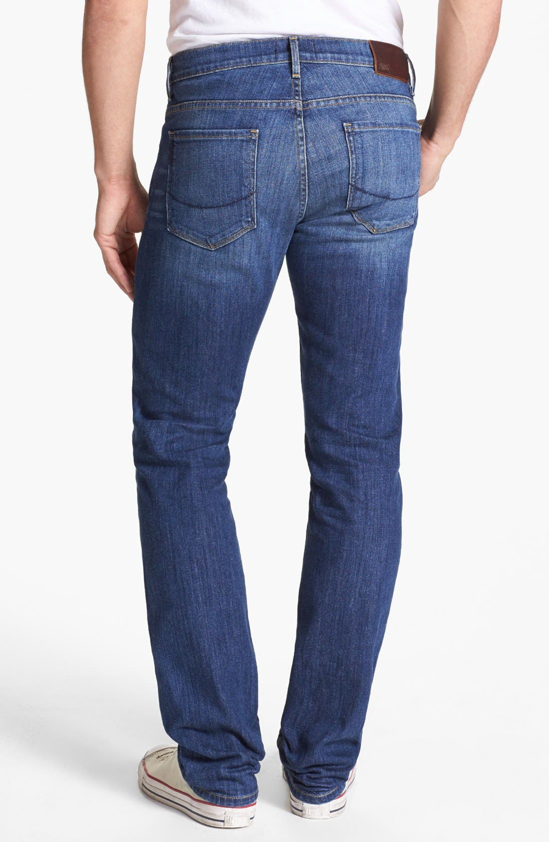 Alternate Image 1 Selected - PAIGE 'Normandie' Slim Fit Jeans (Current)
