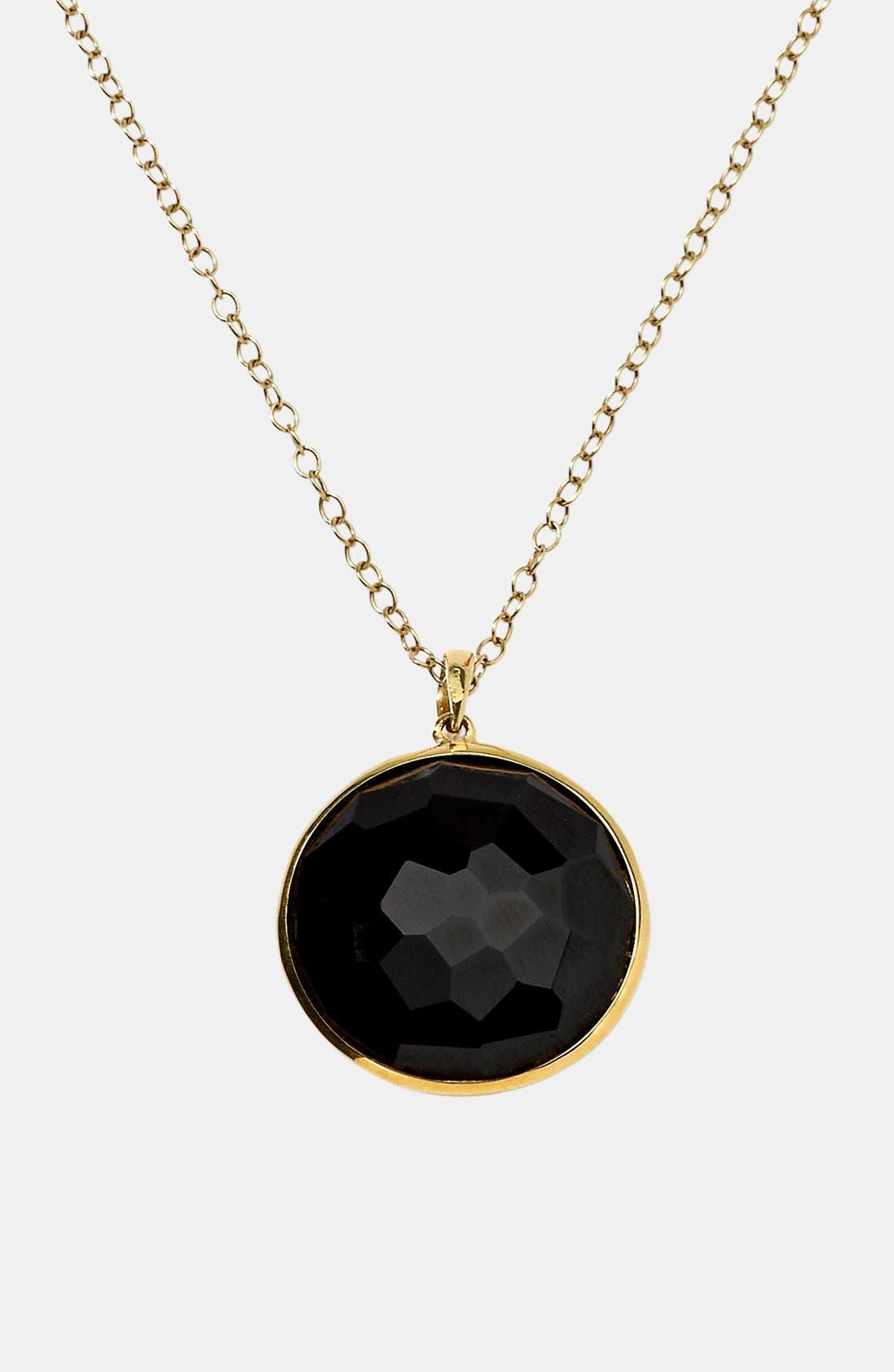Alternate Image 1 Selected - Ippolita 'Rock Candy - Lollipop' 18k Gold Pendant Necklace