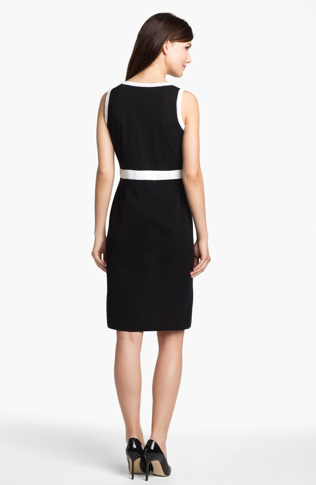 Alternate Image 2  - Misook 'Carrie' Dress (Petite)