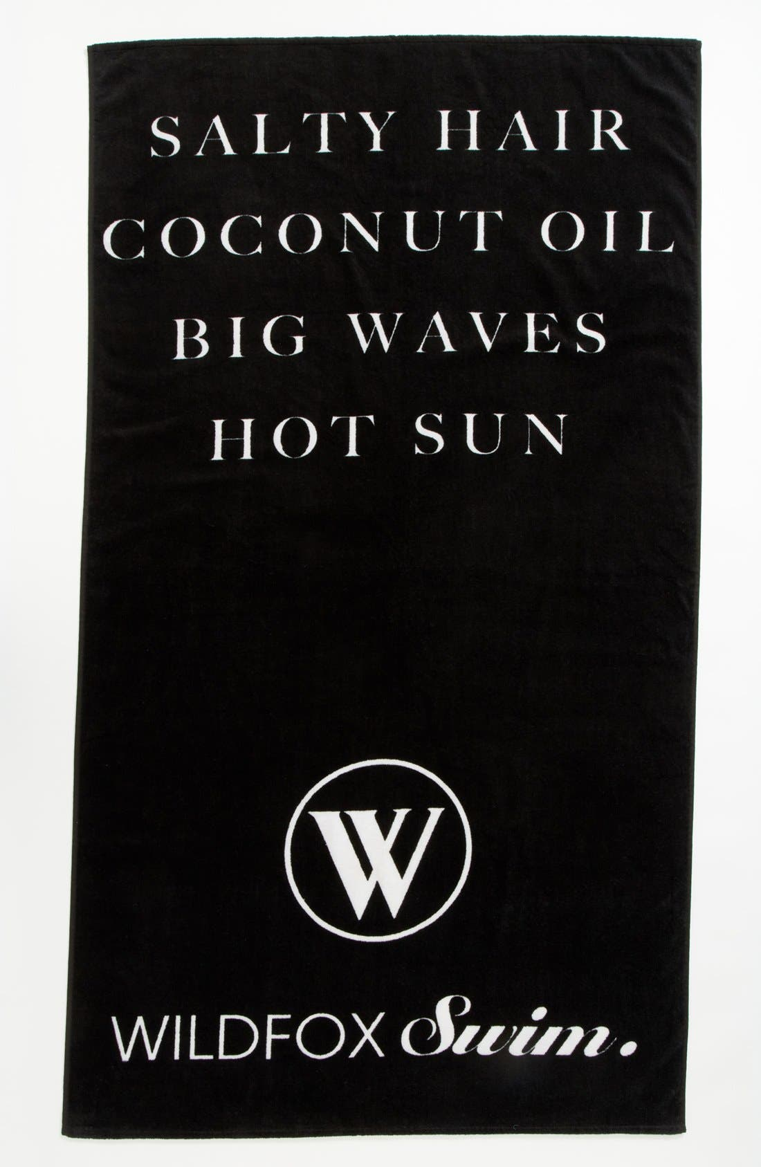 Alternate Image 1 Selected - Wildfox 'Salty Hair' Swim Towel