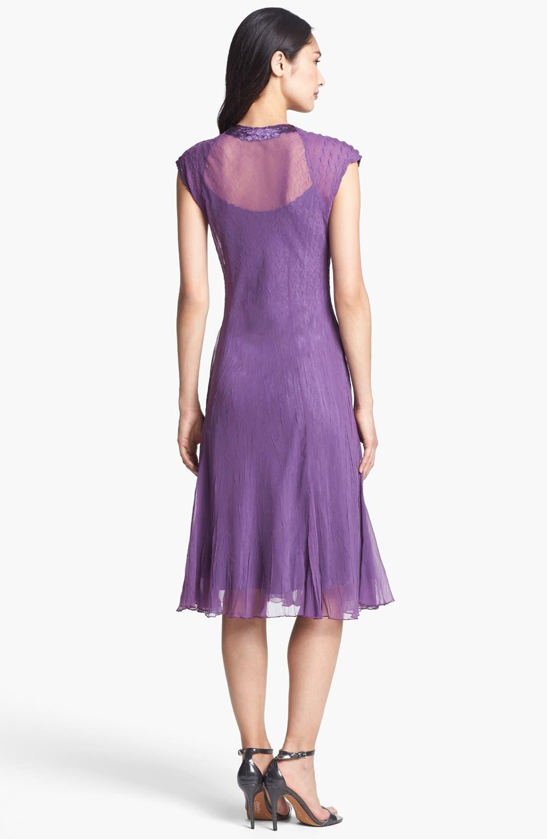Alternate Image 2  - Komarov Embellished Chiffon Dress
