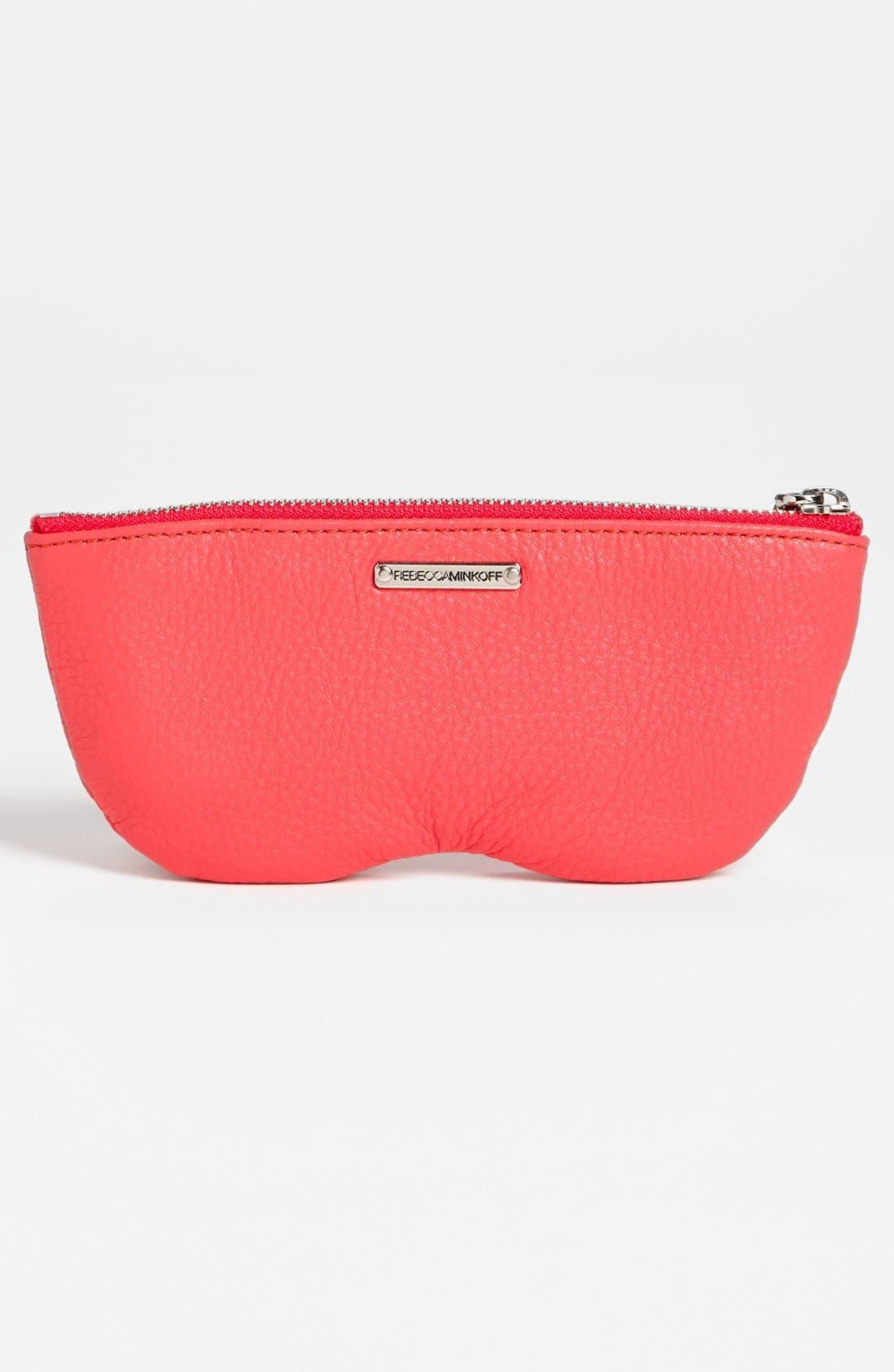 Alternate Image 2  - Rebecca Minkoff Leather Sunglasses Case