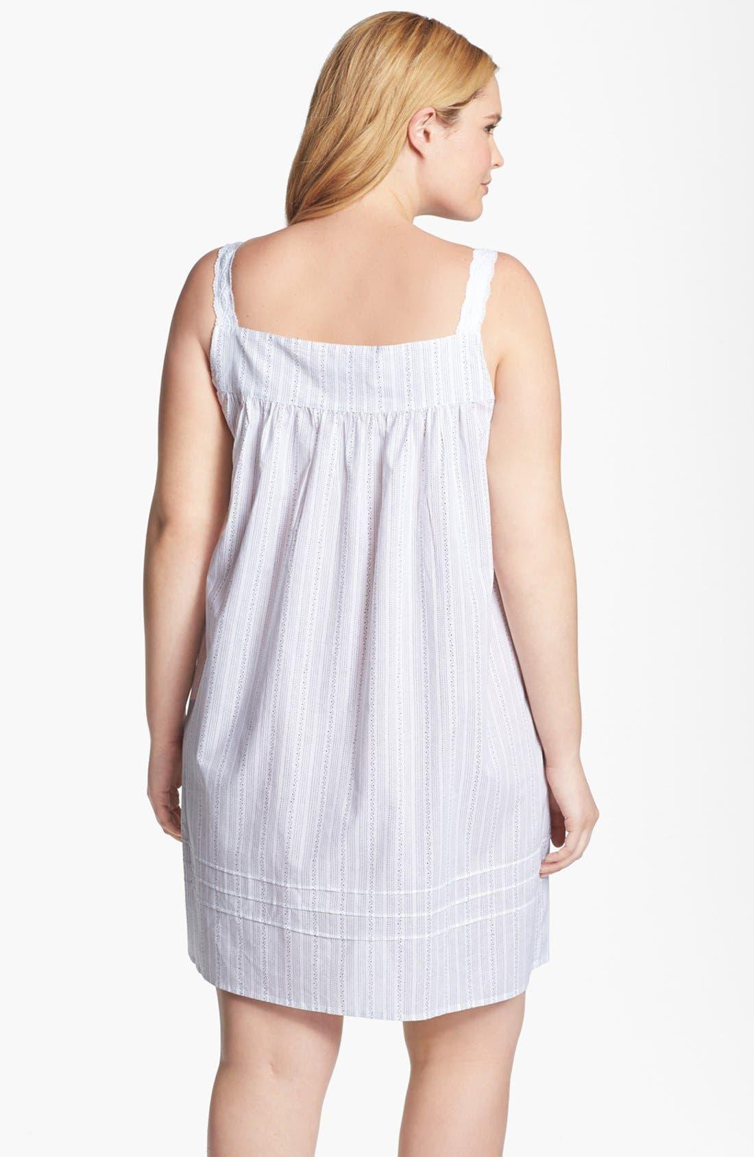 Alternate Image 2  - Eileen West 'Moonlit Shores' Short Nightgown (Plus Size)