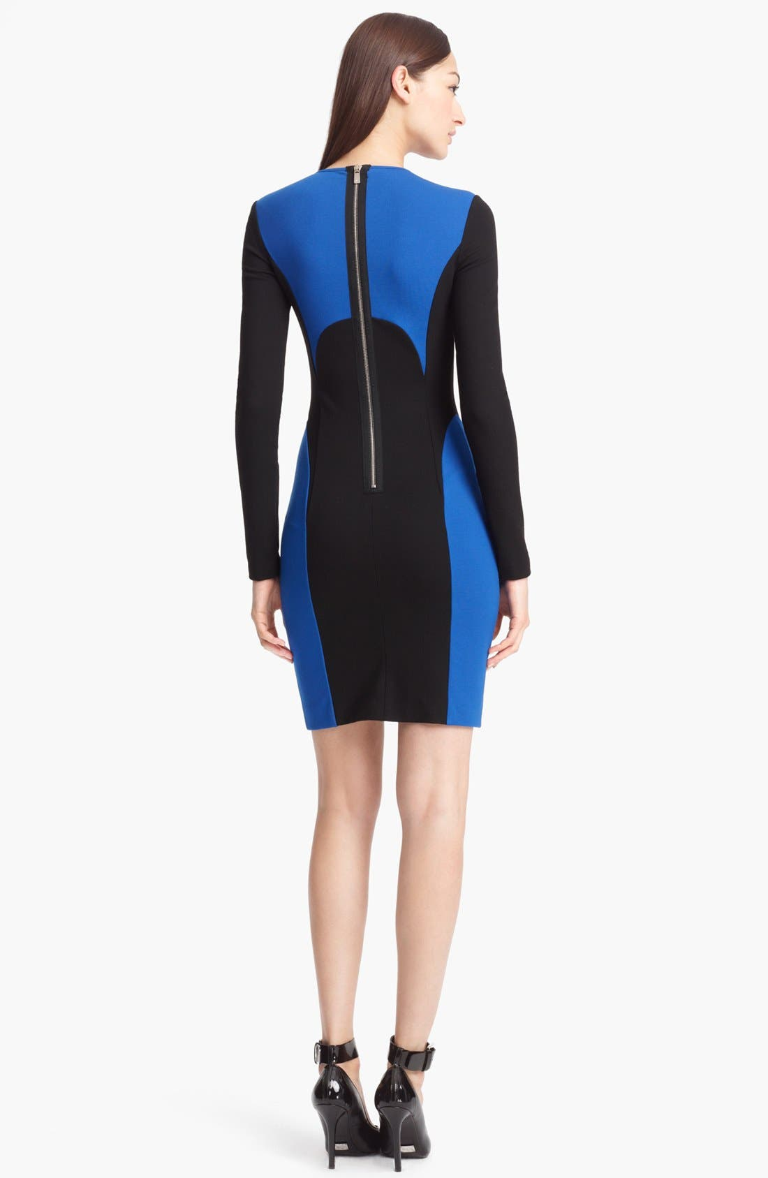 Alternate Image 2  - Michael Kors Colorblock Jersey Dress