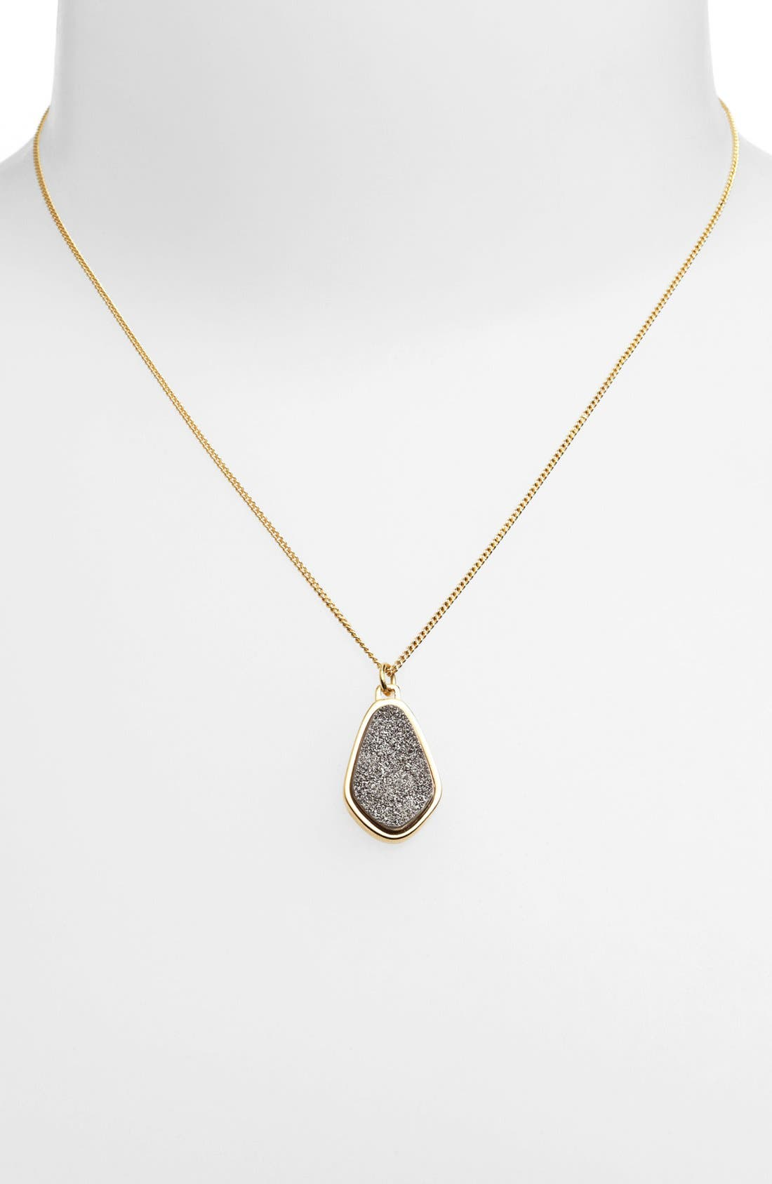 Alternate Image 1 Selected - Marcia Moran Organic Shape Pendant Necklace (Online Only)