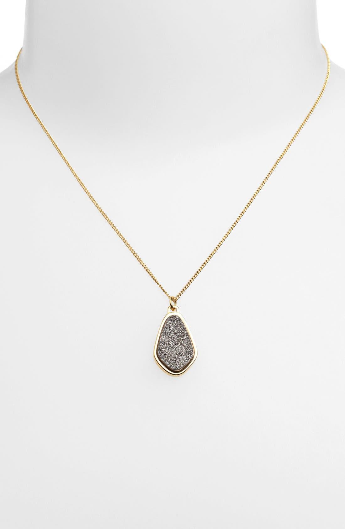 Main Image - Marcia Moran Organic Shape Pendant Necklace (Online Only)