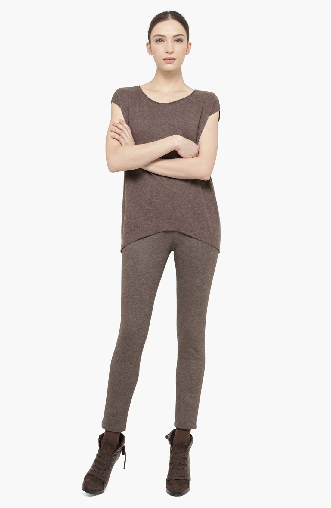Alternate Image 2  - Akris punto Stretch Jersey Pants
