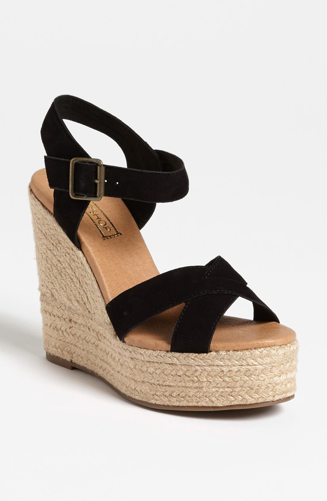 Alternate Image 1 Selected - Topshop 'Whispered' Sandal