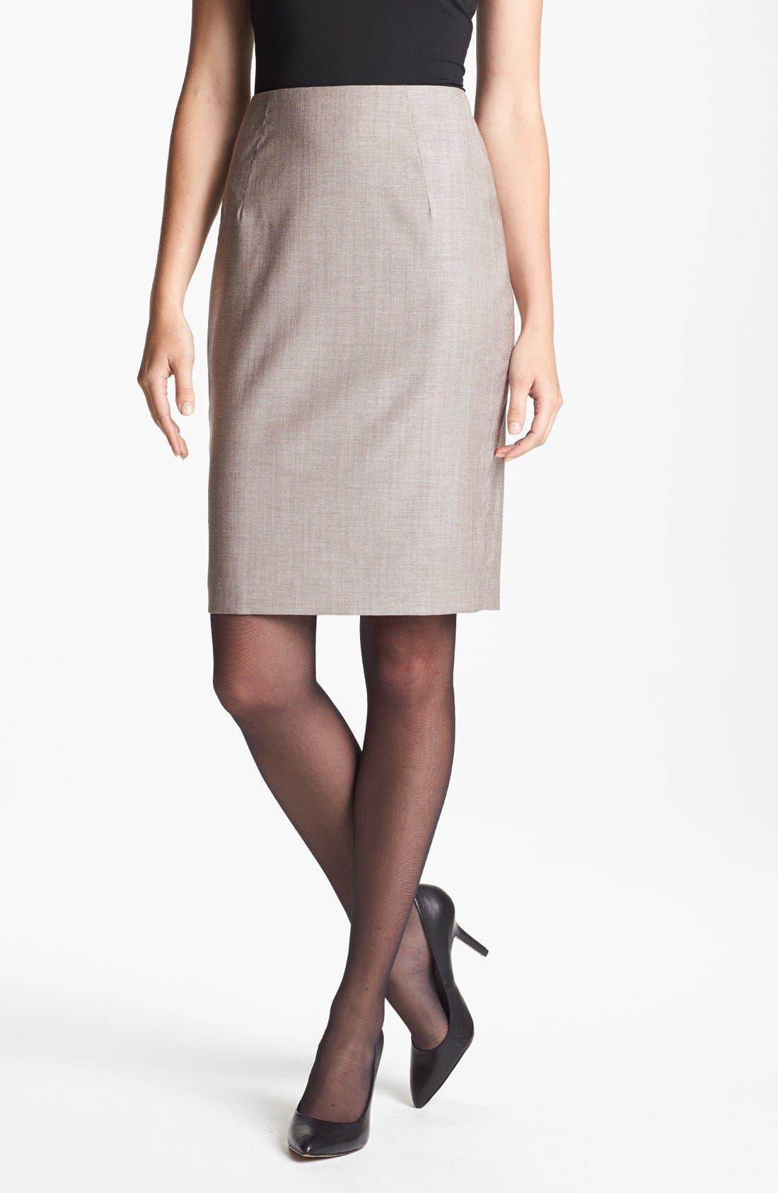 Alternate Image 1 Selected - BOSS HUGO BOSS 'Vilina1' Skirt