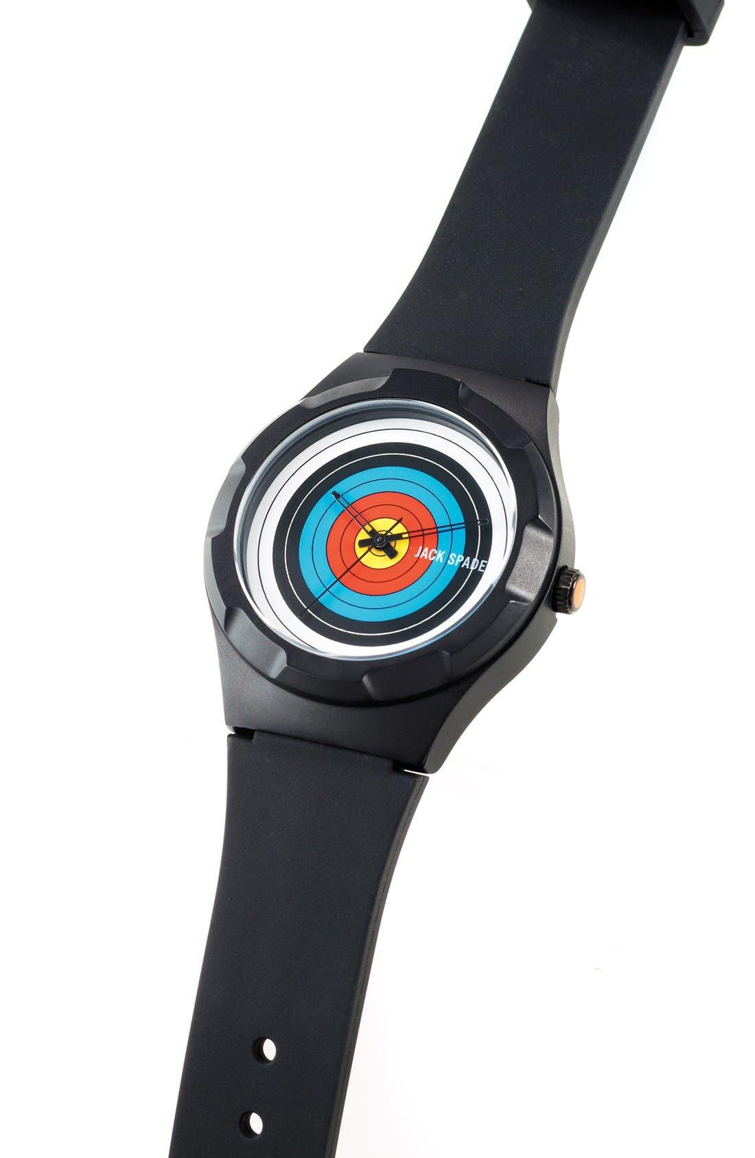 Alternate Image 4  - Jack Spade 'Graphic - Archery' Round Watch, 38mm