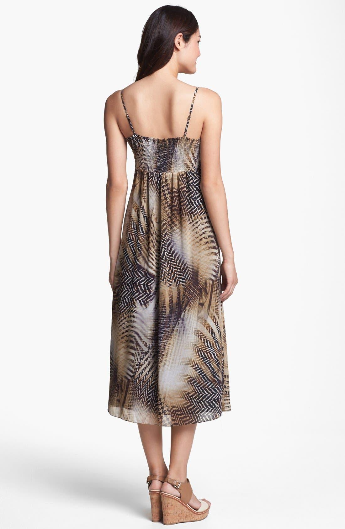 Alternate Image 2  - Vince Camuto Empire Midi Dress