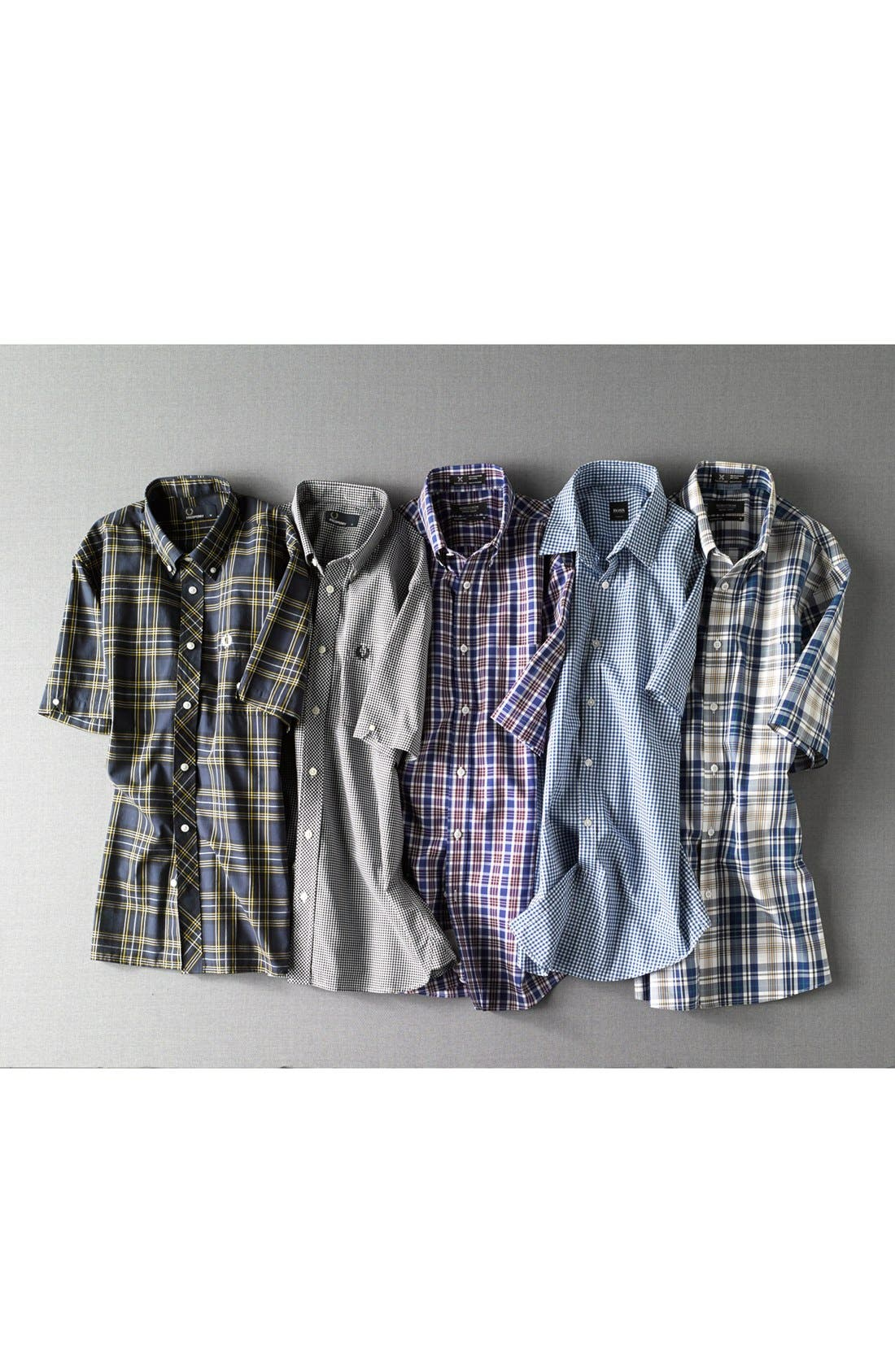 Alternate Image 4  - Fred Perry Gingham Check Shirt