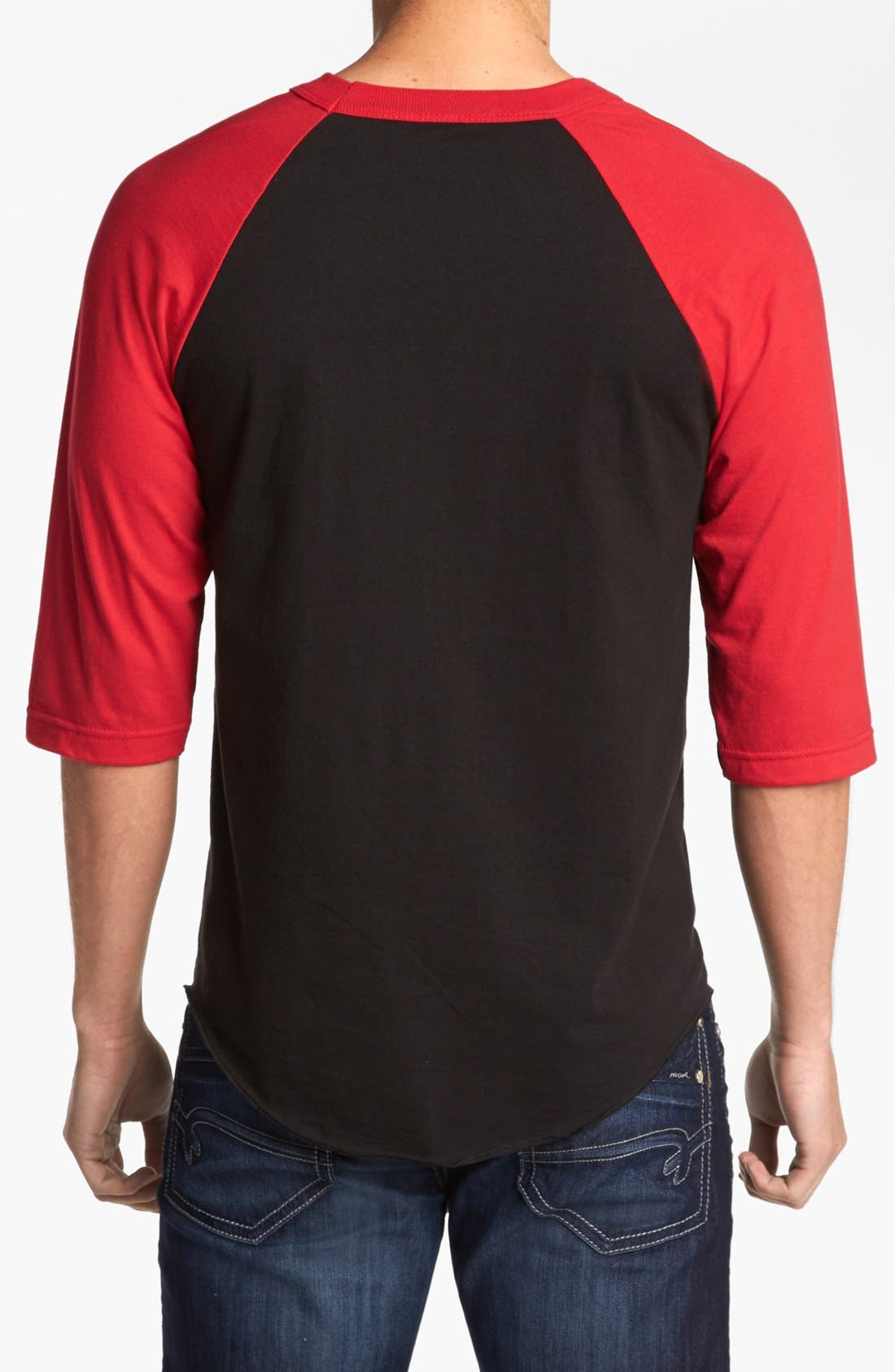 Alternate Image 2  - Obey 'American Metal' Baseball T-Shirt