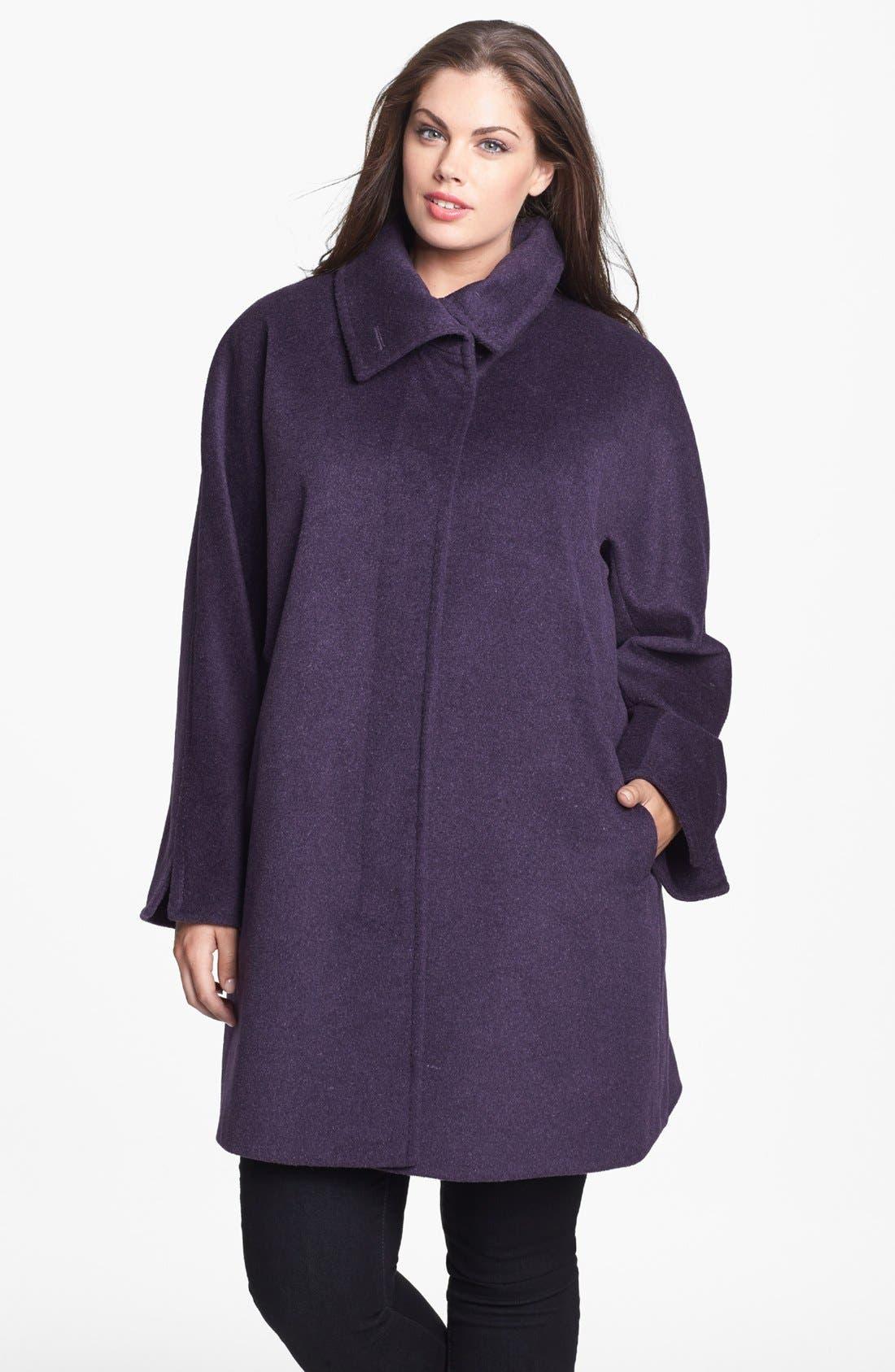 Alternate Image 1 Selected - Ellen Tracy Dolman Sleeve Topper (Plus Size)