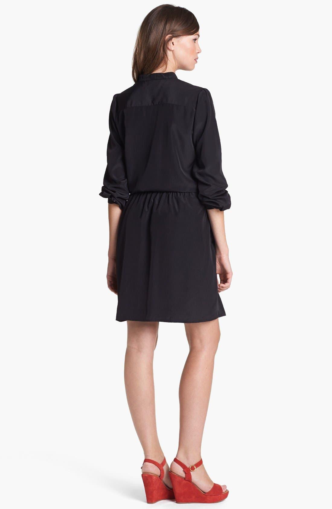 Alternate Image 2  - Halogen® Dropped Waist Dress