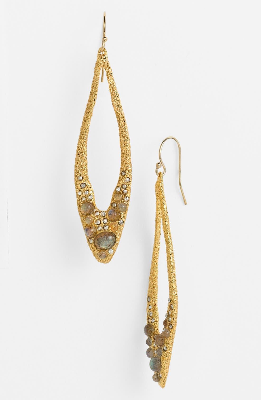 Alternate Image 1 Selected - Alexis Bittar 'Elements - Jardin de Papillon' Open Teardrop Earrings